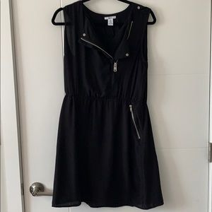 Bar III black dress with silver detail